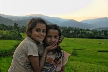 Jogatar Sunset Children Nepal