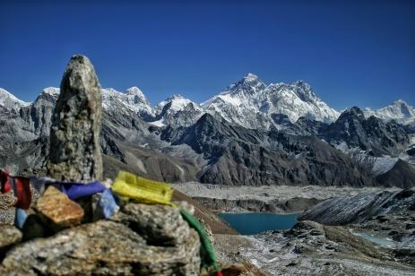 Mount Everest Gokyo Lake Prayer Flags