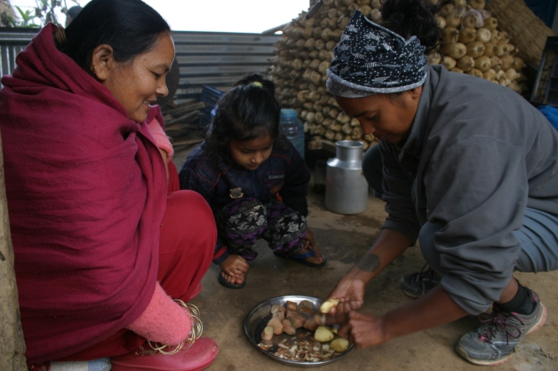 Cooking In Nepal
