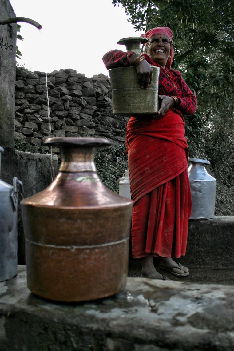 Chandeni Nepal Woman Water