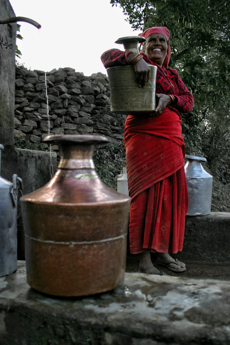 Chandeni Nepal Woman Water