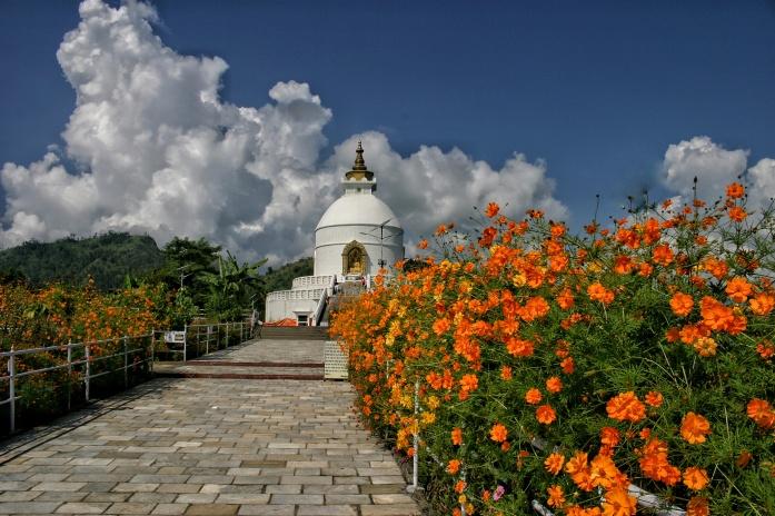 Peace Pagoda Pokhara Nepal