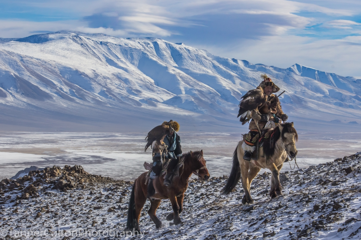 Photo Of The Week: Eagle Hunters Of Mongolia